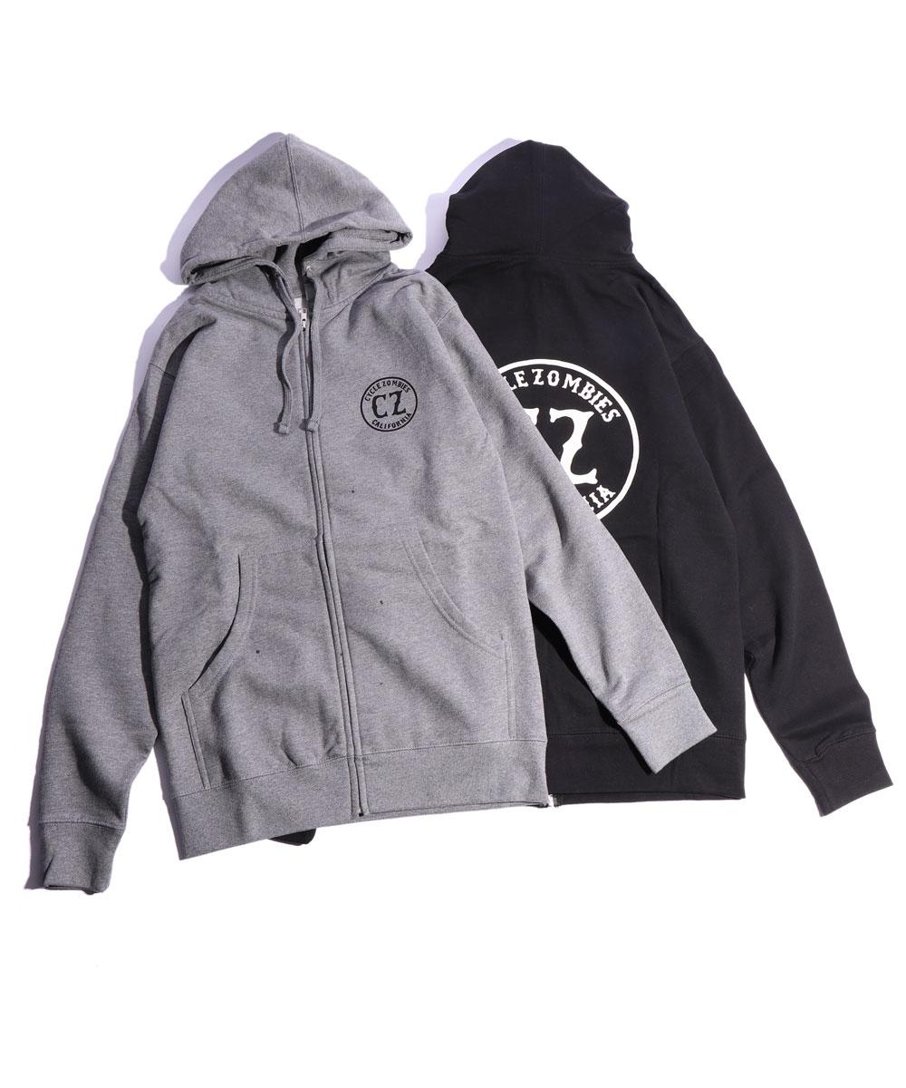 CALIFORNIA Zip Hooded Sweatshirt