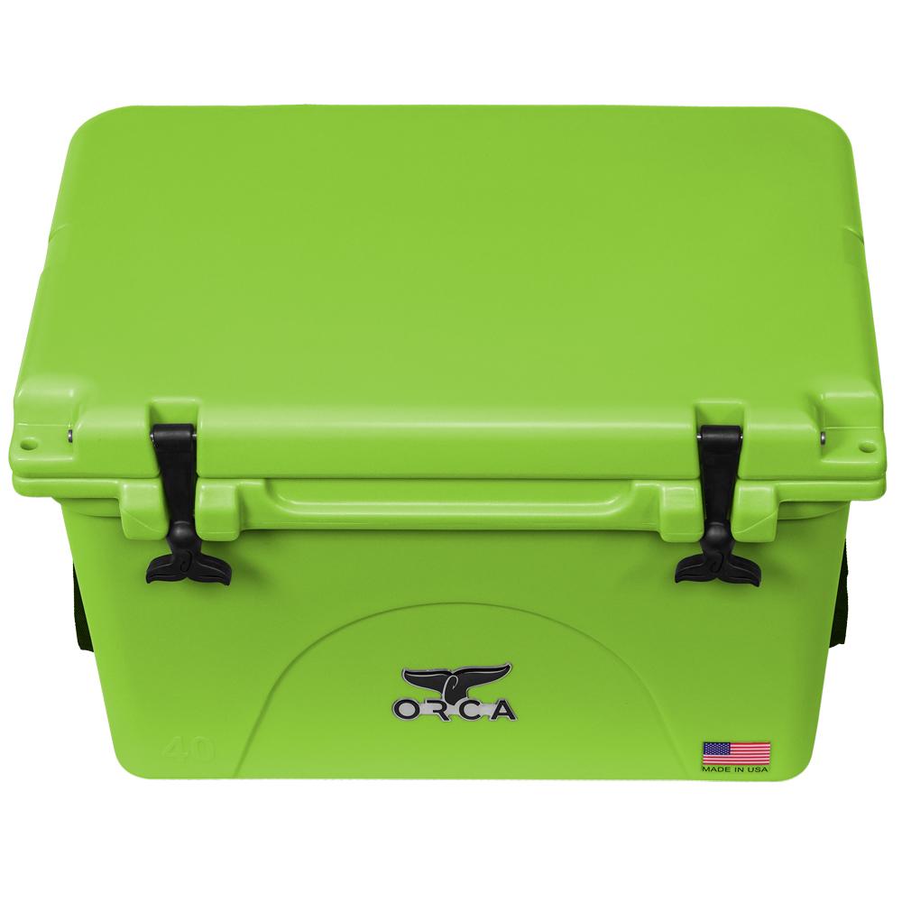 ORCA Coolers 40 Quart Lime