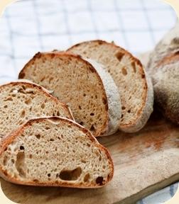 古代小麦のパン ハーフ