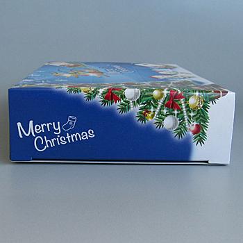 7068ポストカードクリスマスティッシュ25W【入数100個】