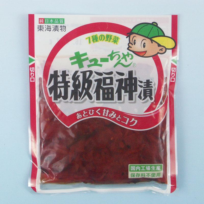キューちゃん 特級福神漬 100g
