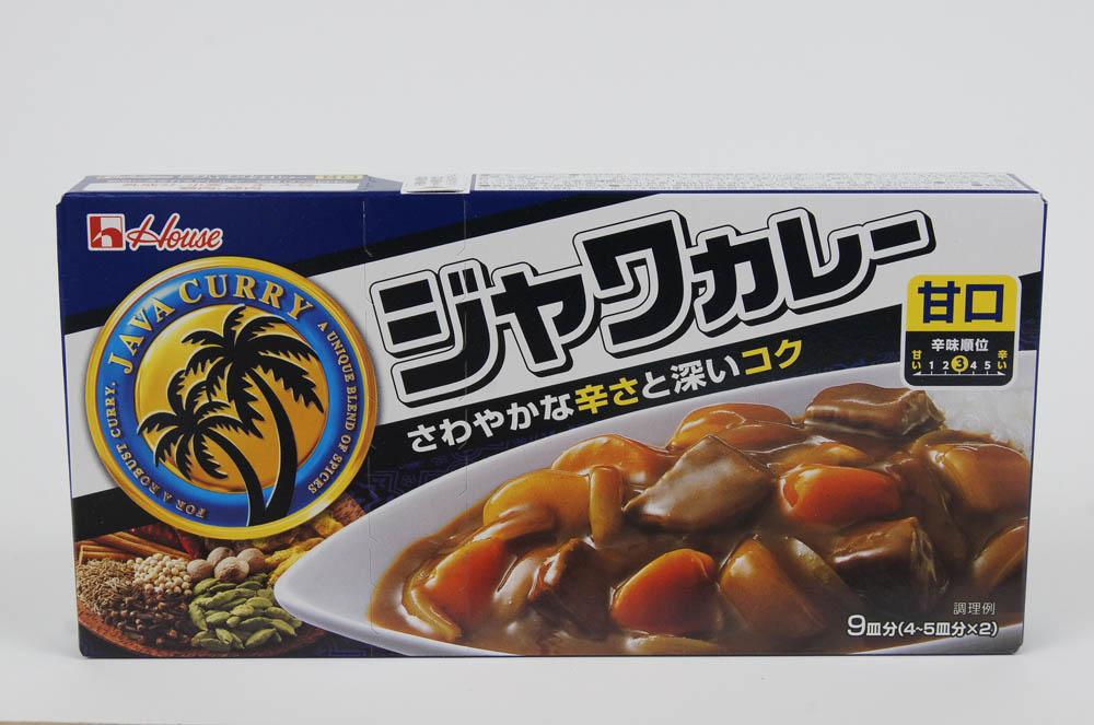 ジャワカレー 甘口 9皿分