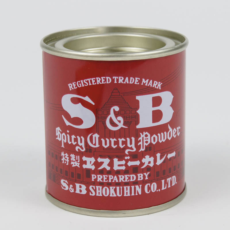 S&B 特製エスビーカレー 84g缶