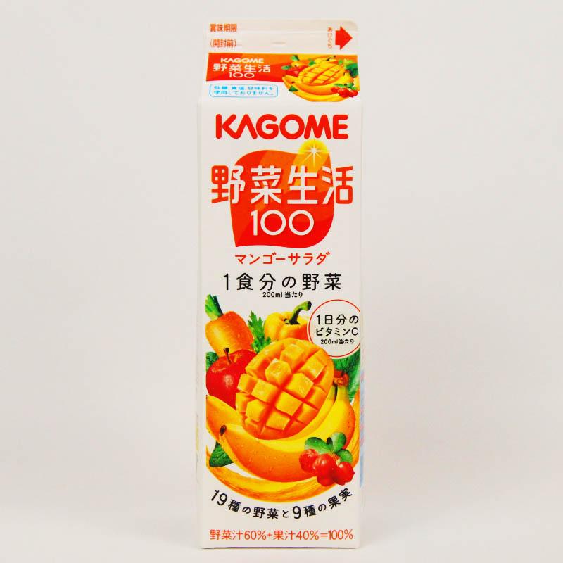 野菜生活100 マンゴーサラダ 1000ml