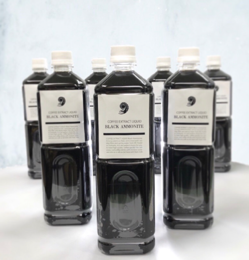 < 1L >濃縮リキッドコーヒー/BLACK AMMONITE