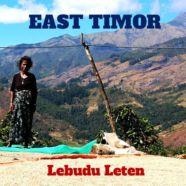 EAST TIMOR-Lebudu Leten /東ティモール レブドゥ・レテン集落