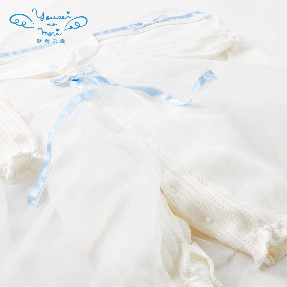 レーシーニットのセレモニードレスセット YC028(ベビー服)