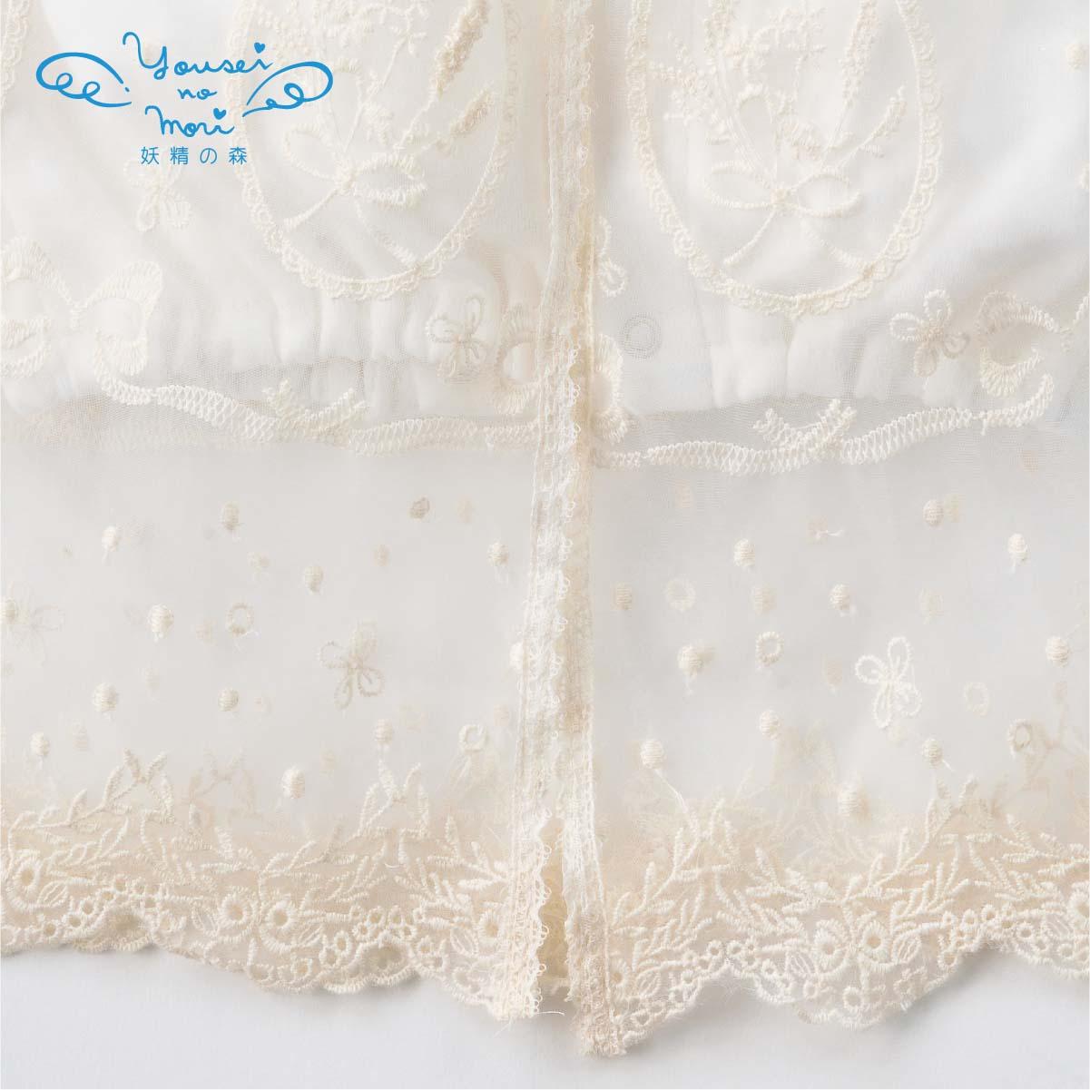 クラシカルレースのセレモニードレスセット YC030(ベビー服)