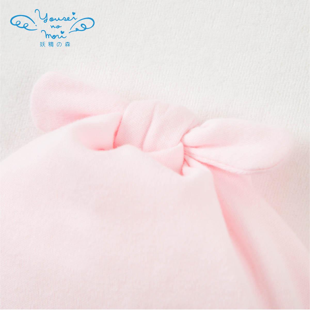 編みモチーフのフード(クマ・ウサギ) YG591/YG592(ベビーグッズ)