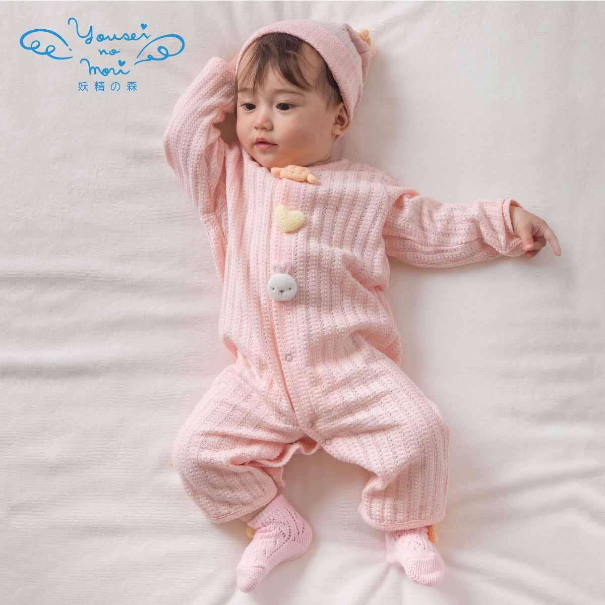 動物モチーフの兼用ドレス(ゾウ・プードル) YH191/YH192(ベビー服)
