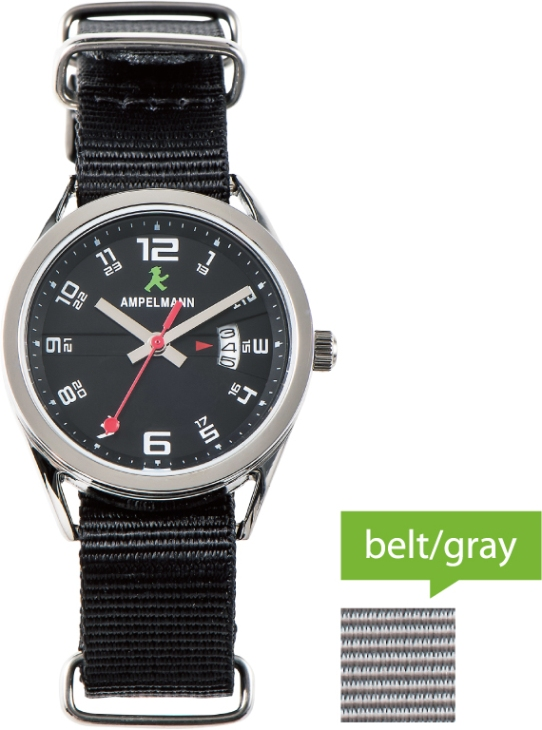 腕時計 クォーツ ラウンド 黒 ASC-4978-05