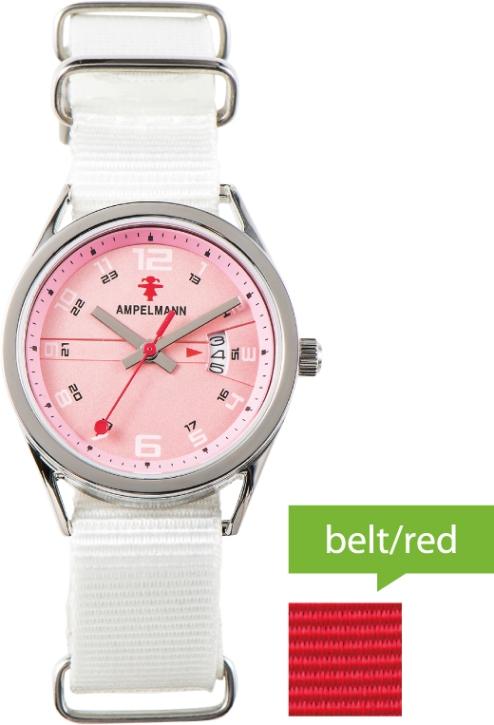 【クォーツ腕時計】ラウンド/ピンク/ASC-4978-22