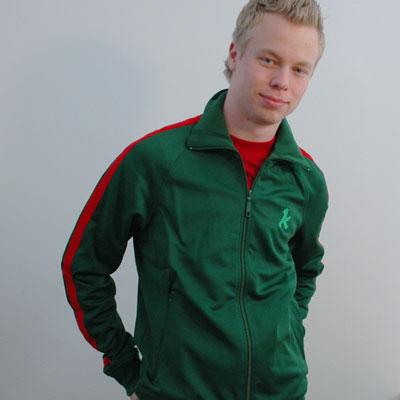 ジャージ 緑