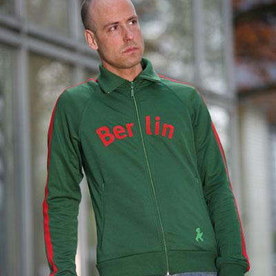 ジャージ 緑BERLIN