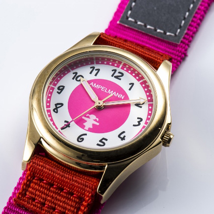 Kids or Woman Watch ピンク AMA-2035-22