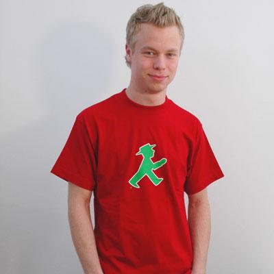 Tシャツ 赤イラスト