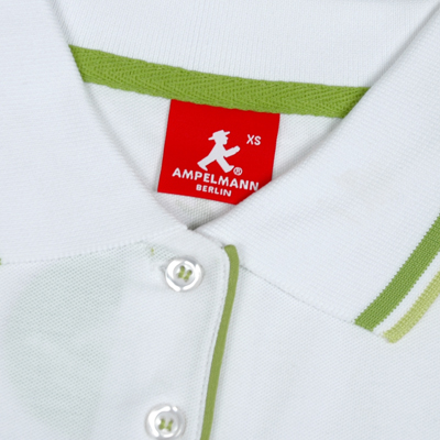 レディース ポロシャツ/ホワイト
