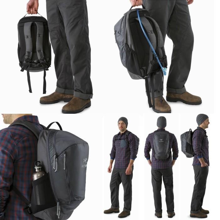ARC'TERYX アークテリクス Mantis 26L Backpack Black2 ビジネスバック 26L 正規輸入品 バックパック タウンユース