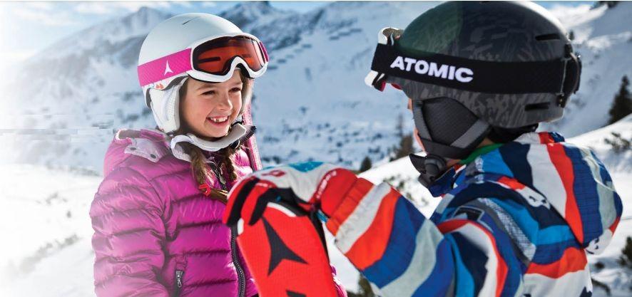 アトミック ATOMIC 2018 2019 アトミック スキーヘルメット MENTOR JR Berry キッズ ジュニア ヘルメット