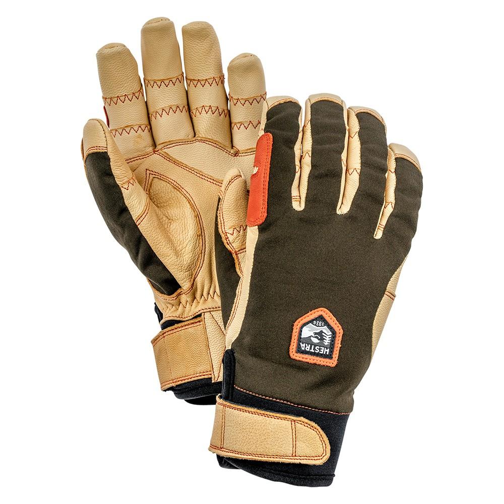 ヘストラ HESTRA 32950 ERGO GRIP ACTIVE 861700 ForestBrown ヘストラ アウトドア 手袋 スキー グローブ