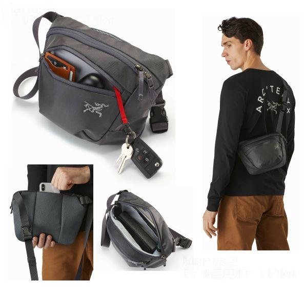 アークテリクス ARCTERYX Mantis 2 Waistpack Black L07449500 ショルダーバック ウエストパック ヒップバック Maka2 マカ2 後継モデル