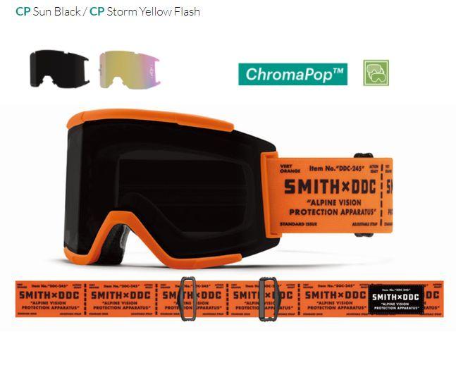 スミス 2021 SMITH Squad XL ArtistSeries  Draplin EarlyModel ゴーグル スキー スノボ  アーリーモデル