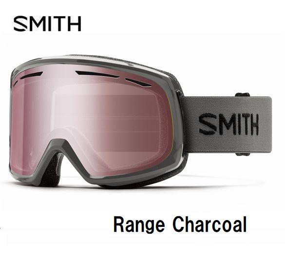 スミス 2020 SMITH Range Chacoal レンジ ゴーグル スキー スノボ