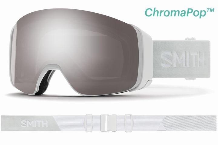 スミス 2020 SMITH  4D MAG White Vapor CP SUN PLATINUM MIRROR ゴーグル スキー スノボ スノーボード