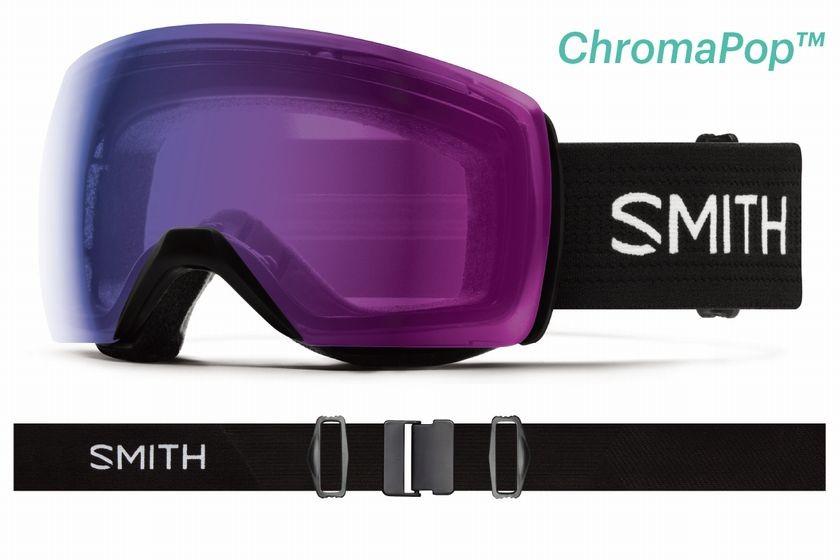 スミス 2020 SMITH SKYLINE XL Black CP Photochromic Rose Flash 調光レンズ ゴーグル スキー スノボ スノーボード