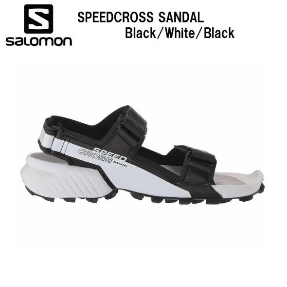 サロモン 21SS SALOMON SPEEDCROSS SANDAL Black/Wh/Bk L40914100 スピードクロス サンダル メンズ