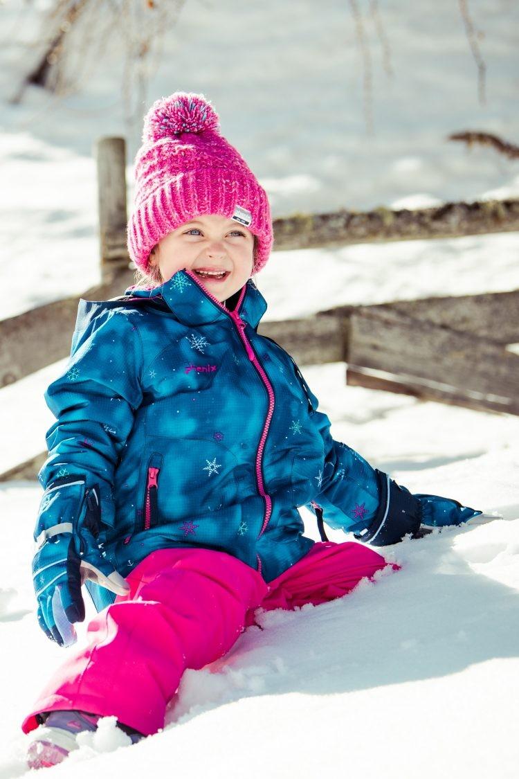 フェニックス 2020 PHENIX Snow Crystal Girl's Two-Piece ツーピース PS9H22P90  フェニックス こども用 スキー キッズ ジュニア 上下セット