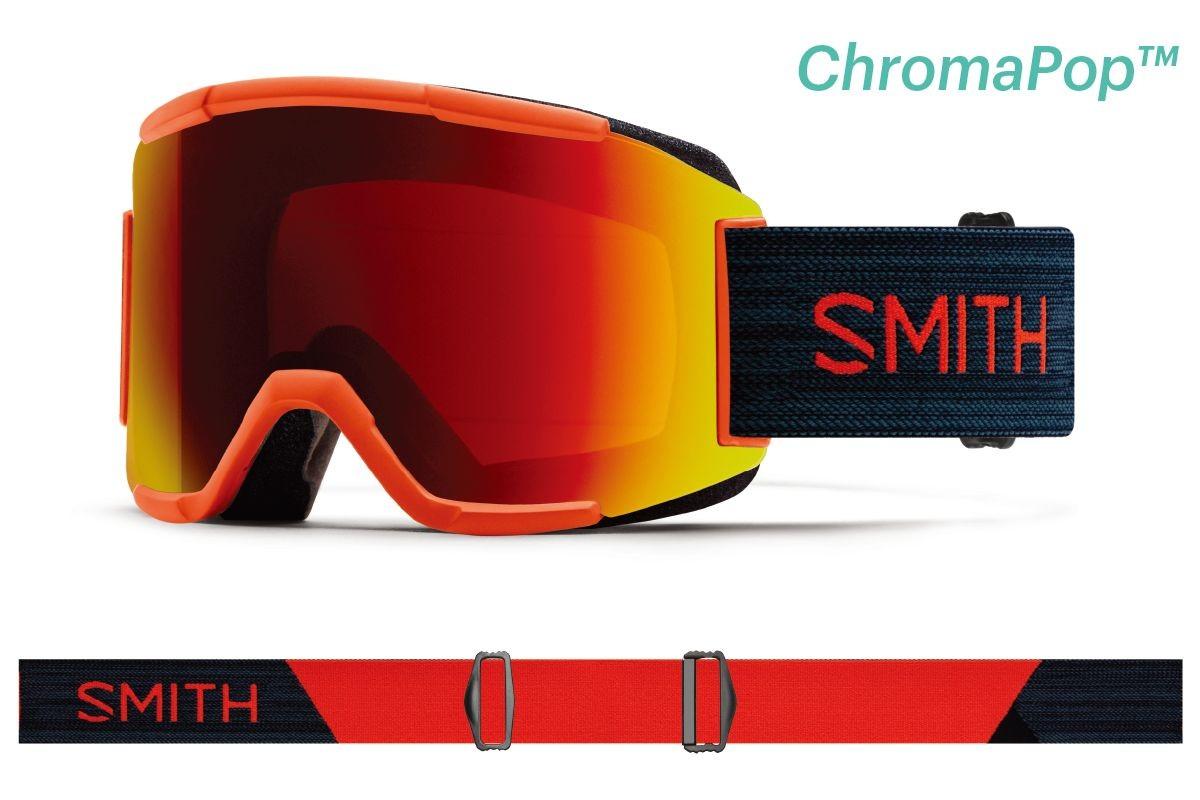 スミス 2020 SMITH Squad RedRock スミス スカッド ゴーグル スキー スノボ