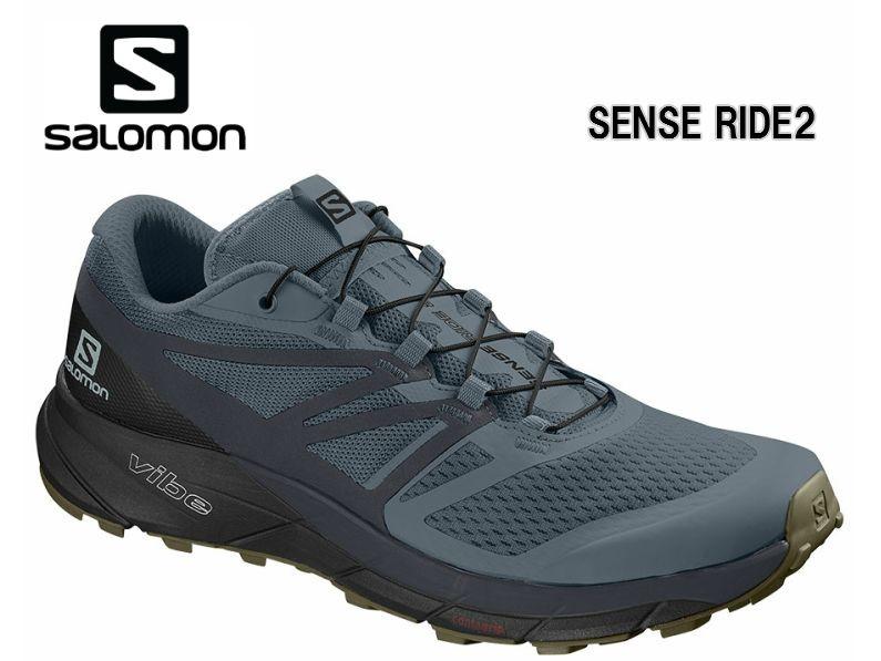 サロモン SALOMON 19SS SENSE RIDE 2 StormyWeather L40673900 サロモントレイルランニングシューズ