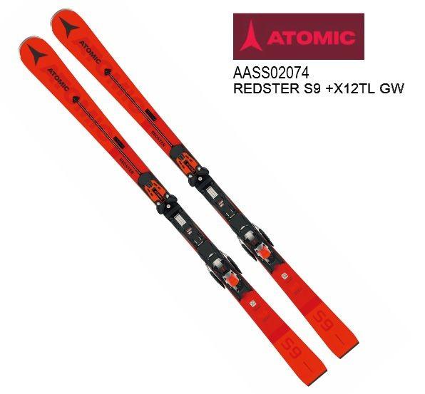 アトミック 2019 2020 ATOMIC REDSTER S9 + X 12 TL GW アトミック レッドスター 金具付
