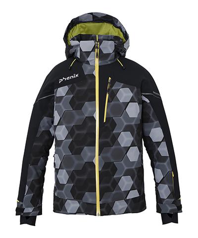 即納品 2021 Phenix Demo Team Pro Jacket Demo Team 3-D Pants Black PFA72OT11 PFA72OB11 スキーウエア メンズ フェニックス 上下セット