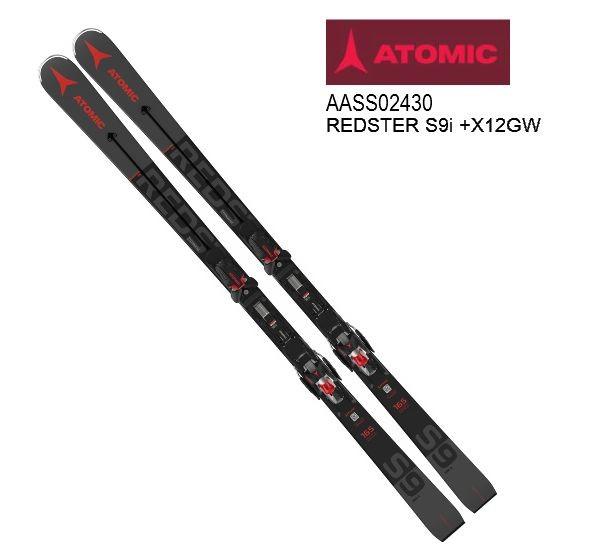 2021 ATOMIC REDSTER S9i + X12 GW アトミック レッドスター スキー板 金具付 20/21