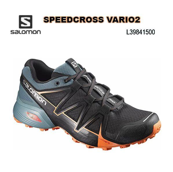 SALOMON SPEEDCROSS VARIO2 トレラン メンズ 男性用 サロモン トレーニング レース ロード トレイルランニングシューズ L39841500
