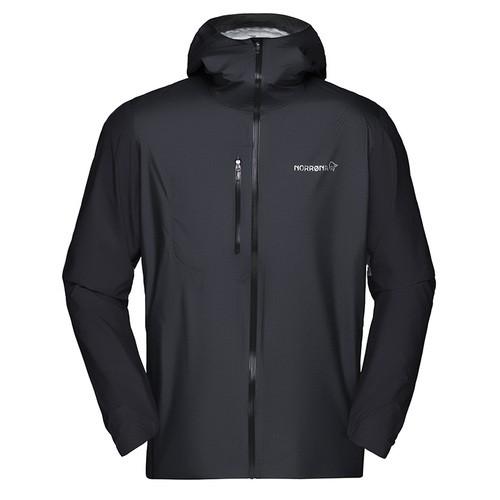 NORRONA bitihorn dri 1 Jacket Men CAVIAR ノローナ メンズ ビティホーン ドライ1 ジャケット 登山 トレラン 雨具 レインウェア