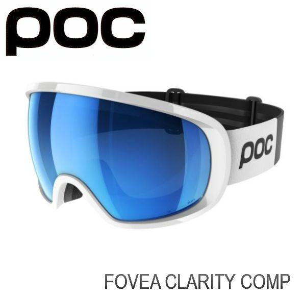 ポック POC Fovea Clarity Comp   HydrogenWhite ポック スキー スノボ ゴーグル フォーヴィア クラリティー 球面