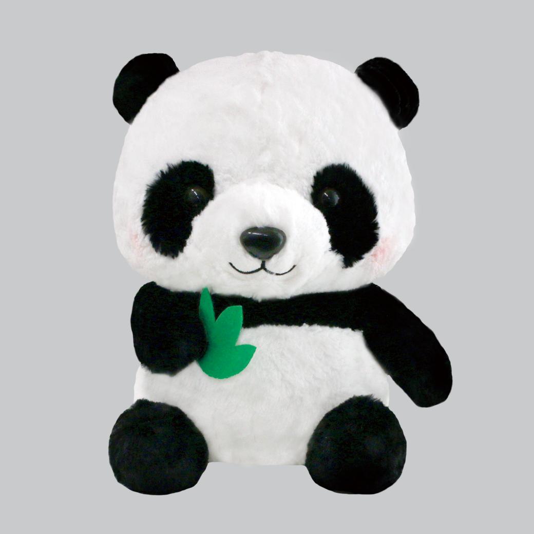 パンダの赤ちゃんBIG笹持ち /Panda no akachan BIG Sasamochi:702576