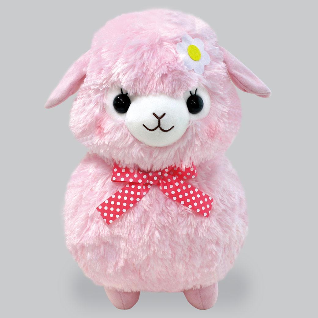 キッズアルパカッソリボンBIGももちゃん/KIDS Alpacasso ribbon BIG Momo-chan:702557