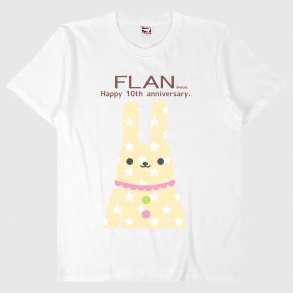 【オンライン限定】FLANTシャツ(ANNIV/ウサギ)571057