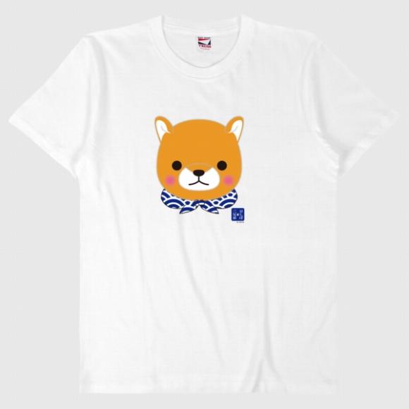 【オンライン限定】豆しば三兄弟Tシャツ(豆太郎/フェイス)571062