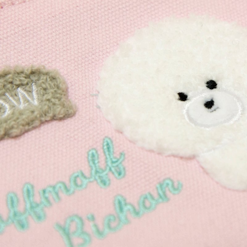 ◆サガラ刺繍ティッシュポーチほわーる/Sagara Embroidered Tissue Pouch Howa-ru:702339