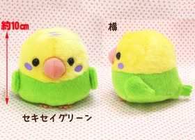 ことり隊 セキセイグリーン ST /Kotoritai Green Budgie Plush toy:700711
