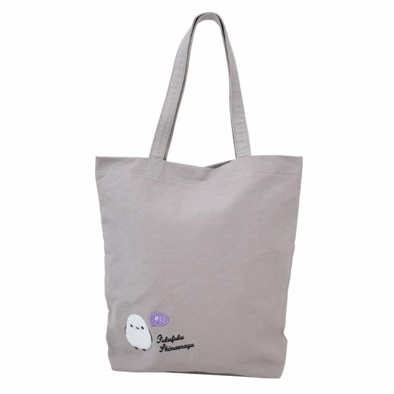 ◆サガラ刺繍トートバッグシマちゃん/Sagara Embroidery Lunch Tote Shima-chan:702423