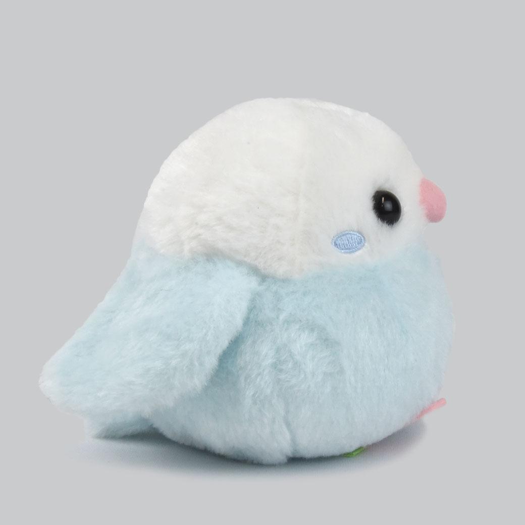 ふくふくセキセイブルーセキさん/Fukufuku Budgerigar blue Seki-san:702482