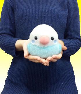 ことり隊 セキセイブルー ST /Kotoritai Blue Budgie Plush toy :700710