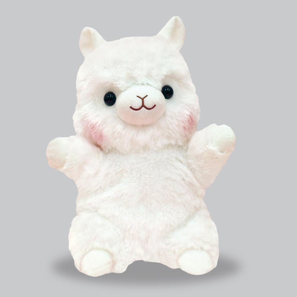 アルパカッソ しろちゃん ハンドパペット/Alpacasso Shiro-chan hand puppet:701044