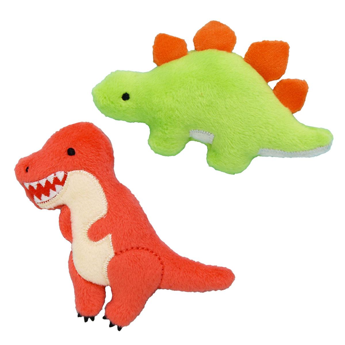 恐竜時代 ぬいぐるみマグネットセット(全身)/Kyoryu-jidai Plush magnet Full-body set:702206,702208